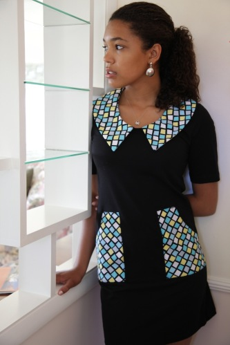 Post-Mod ® Shirtdress by Beaks of Eagles -- with Mod Pockets