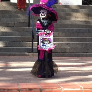at Day of The Dead Celebration- Mission San Luis Obispo - 2014