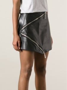 Exposed Zipper Skirt by Kenzo - functional and significant
