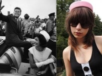 The Jackie Hat - Pink Pillbox Hat by Beaks of Eagles