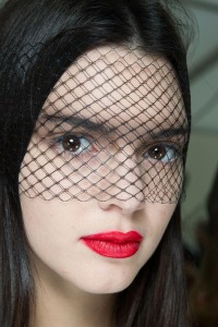 Veil Look - Chanel, Spring 2015 Model: Kendall Jenner
