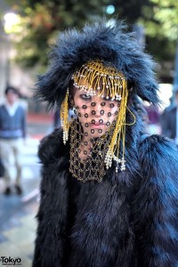 Shibuya Street Fashion Veil