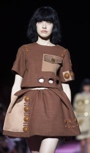 Marc Jacobs Spring 2015 Collection -- use of pockets as signs, postmodern fashion