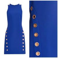 Thierry Mugler Eyelet Dress